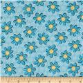 Kozy Kitties Fun Flower Blue
