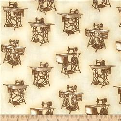 Sewing With Singer Treadle Machines Sepia