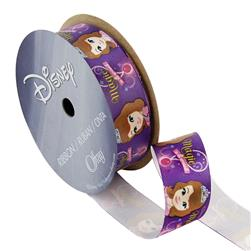 "7/8"" Sofia The First Ribbon Magic Purple"