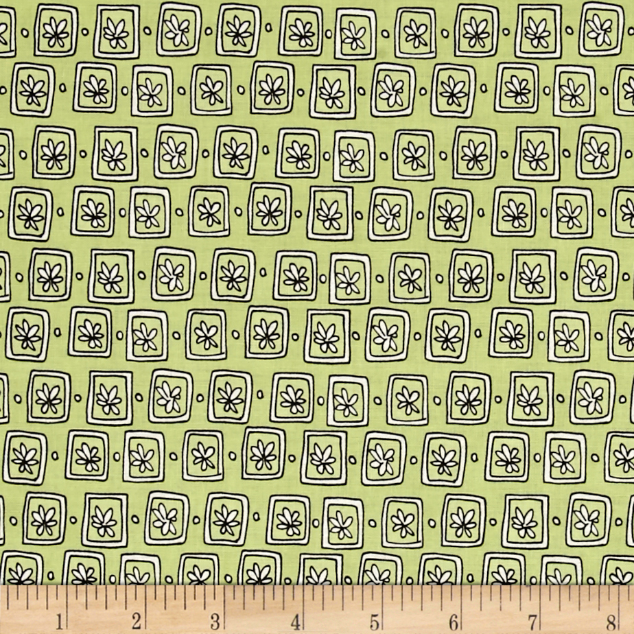 Windham Succulents Flower Box Sage Fabric by Windham in USA
