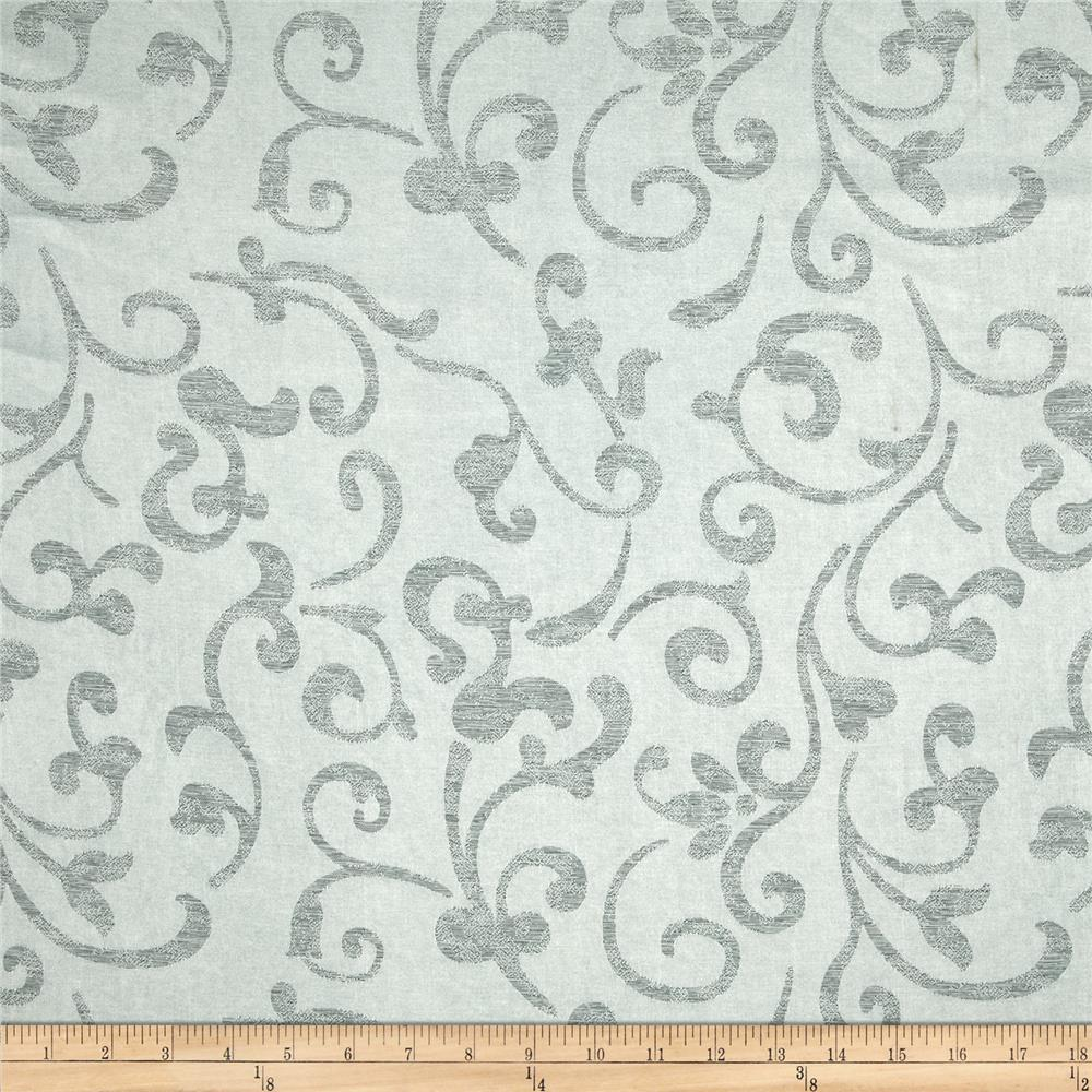 Eroica In Motion Damask Jacquard Silver