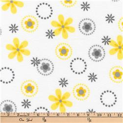 Kaufman Cozy Cotton Flannel Geo Yellow