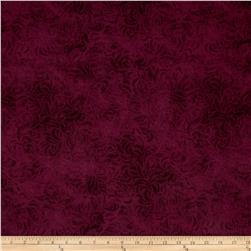 "110"" Wide Quilt Back Bella Suede Raspberry"