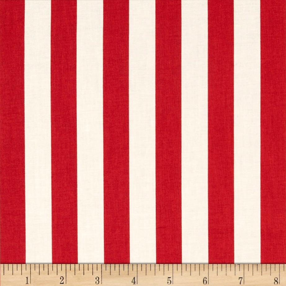 Fresh Market  Stripe Red