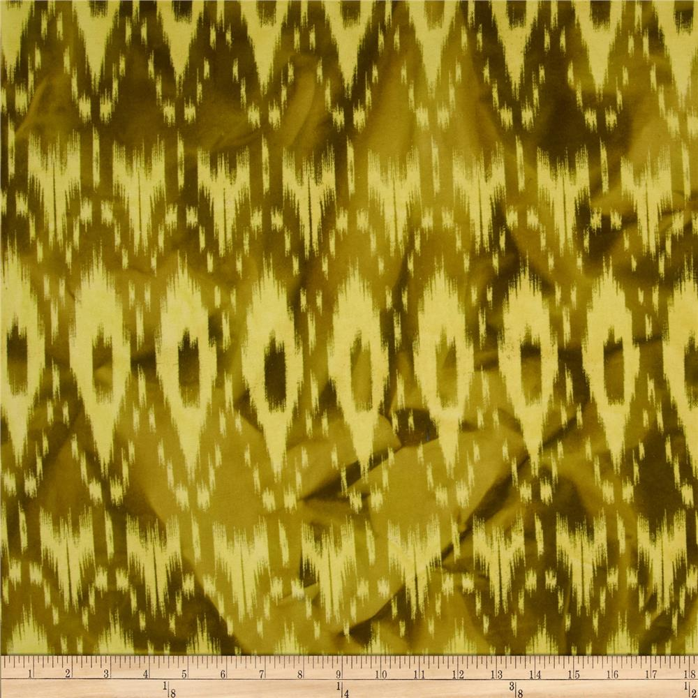 Textile Creations Batik Duck Diamond Ikat Brown/Teadye
