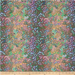Kaffe Fassett Collective Babaganoush Umber Fabric