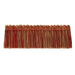 "Jaclyn Smith 2"" 01875 Brush Fringe Spice"
