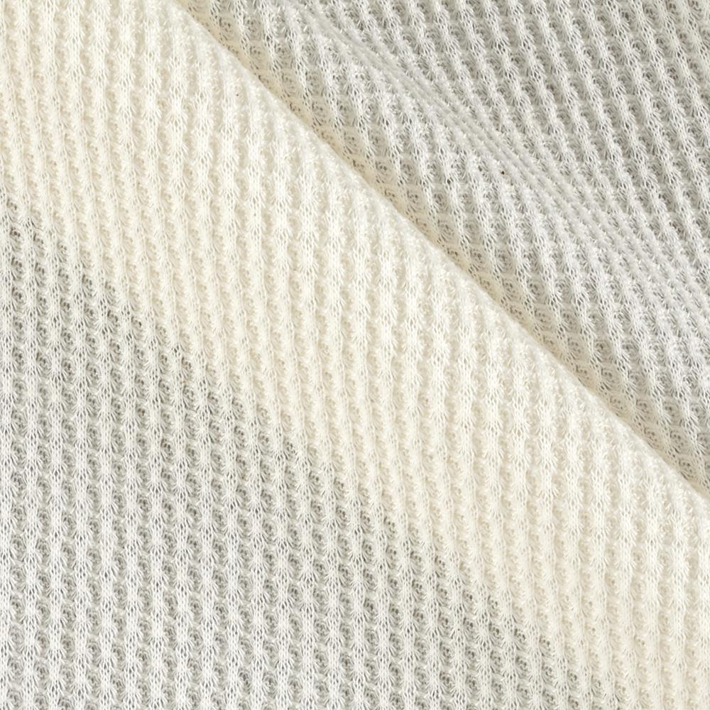 Cotton thermal knit scour pfp discount designer fabric for Apparel fabric