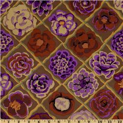 Kaffe Fassett Collective Fall Camellia Brown