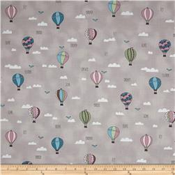 All Afloat Hot Air Ballons Light Taupe