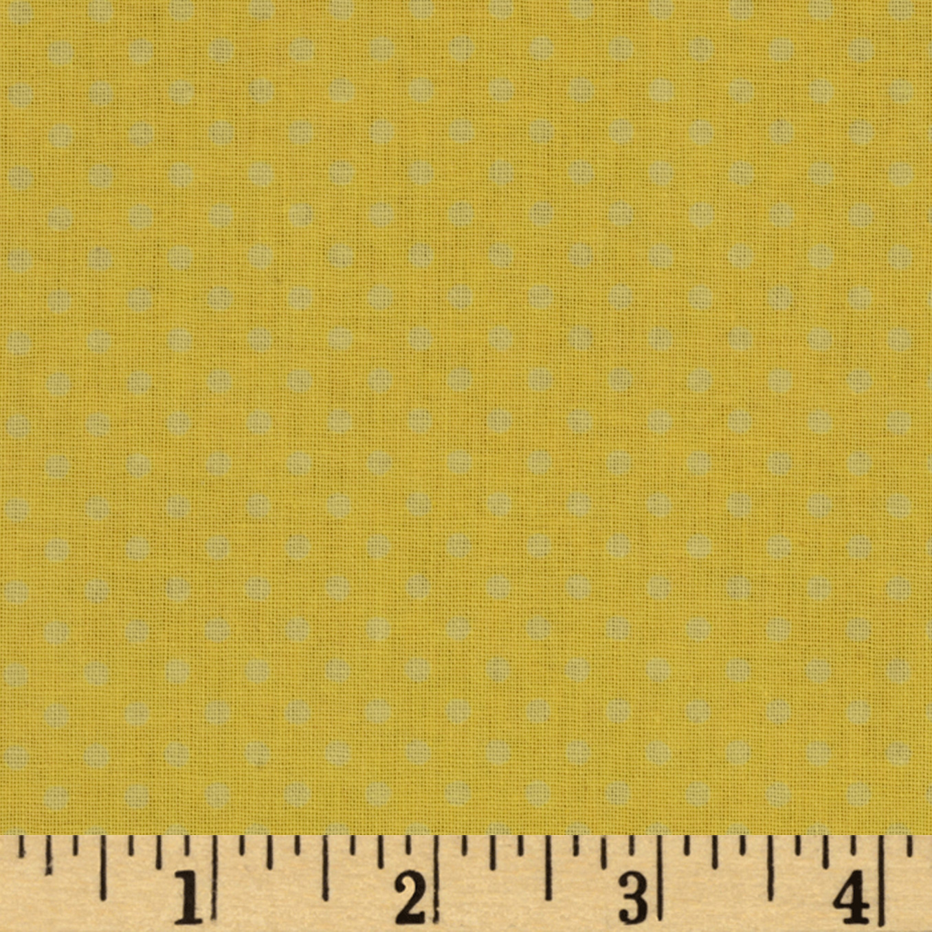 Baby Talk Dots Yellow Fabric