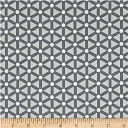 Moda Modern Background Ink Wheels Zen Grey