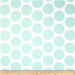 Premier Prints Fancy Dot Twill Mint Fabric