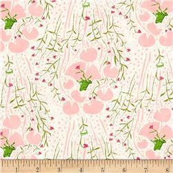 Heather Ross Far Far Away Frogs Pink