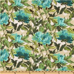 Amy Butler Soul Blossoms Bliss Twilight Peony Azure