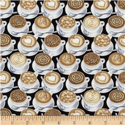 Timeless Treasures Cappachino Allover Latte
