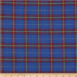 Windstar Flannel Plaid Royal/Red