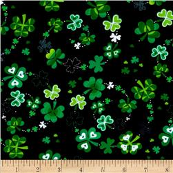 Kanvas Celebrations Lucky Clover Black