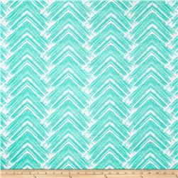 Liverpool Double Knit Abstract Arrows Jade