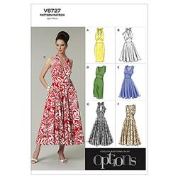 Vogue Misses' Dress Pattern V8727 Size A50