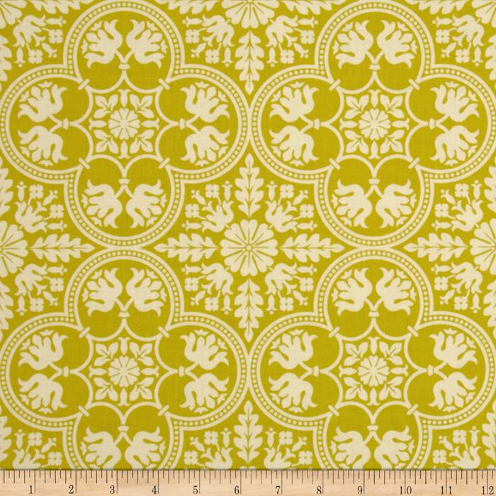 Joel Dewberry Notting Hill Historic Tile Citron