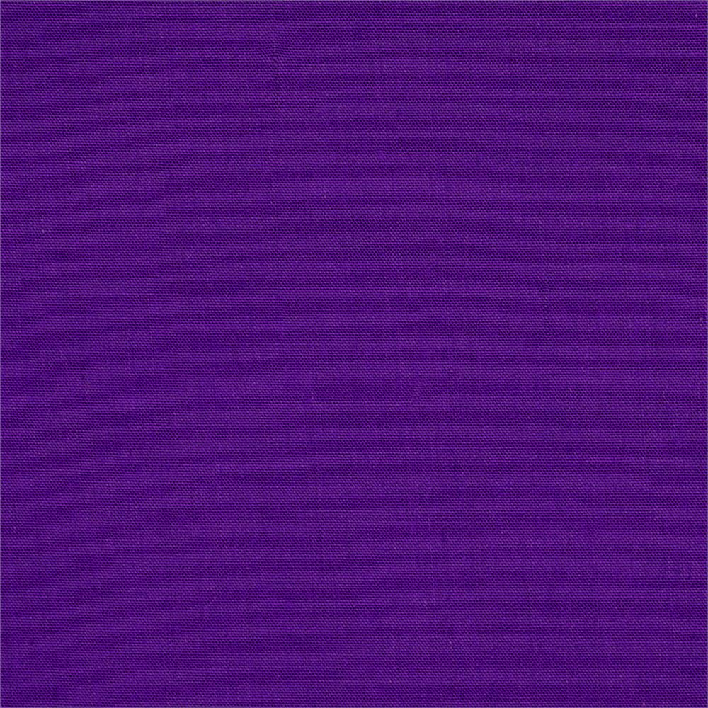 60'' Poly Cotton Broadcloth Purple Fabric By The Yard
