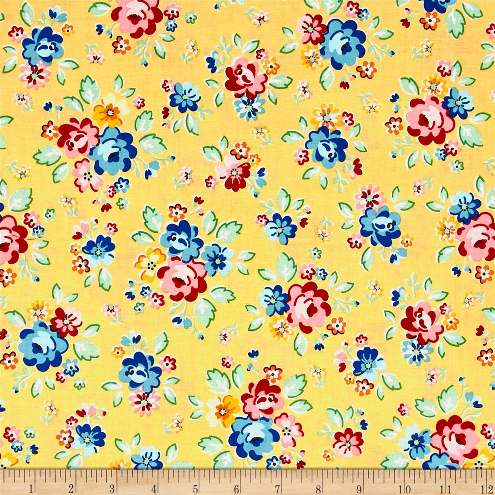 Riley Blake Arbor Blossom Main Yellow