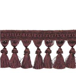 Expo 3 3/4'' Tassel Fringe Chocolate