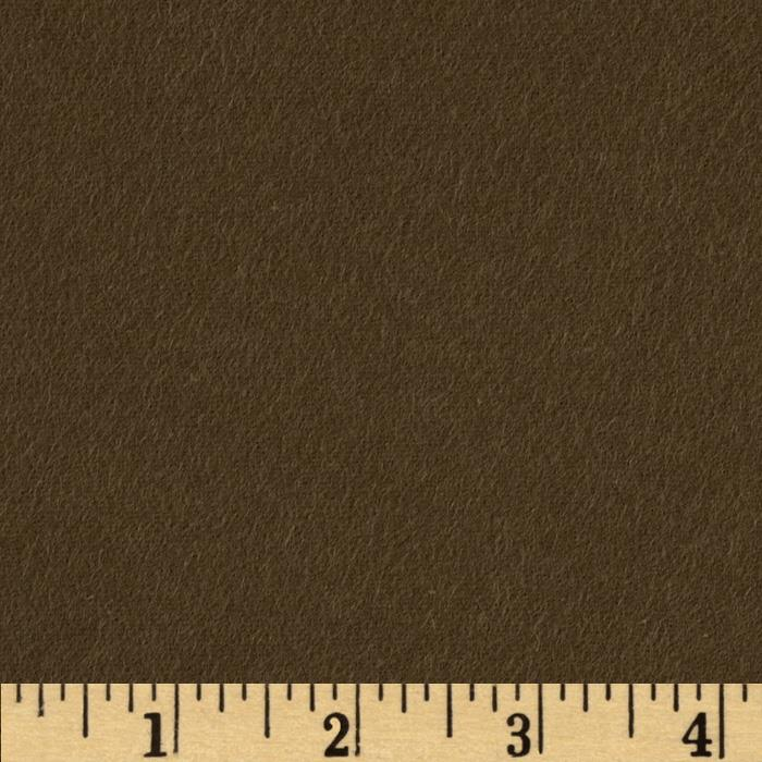 Quilt Block Solid Flannel Olive