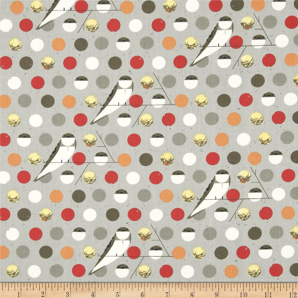 Birch Organic Charley Harper Bank Swallow Fall