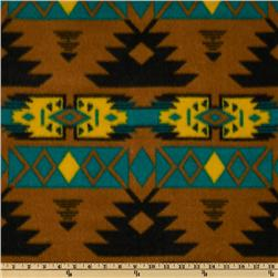 Novelty Fleece Native Teal/Multi