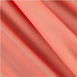 Nylon Activewear Knit Solid Salmon