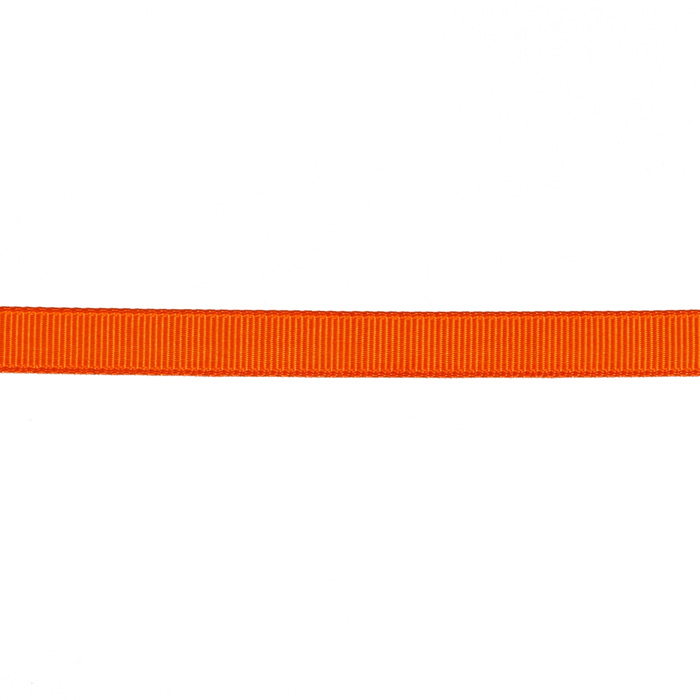 3/8'' Grosgrain Ribbon Orange
