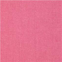 Designer Essentials Linen/Cotton Solid Rose