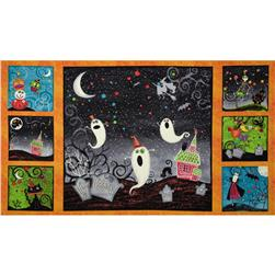 Nightmare Manor Halloween Panel Multi