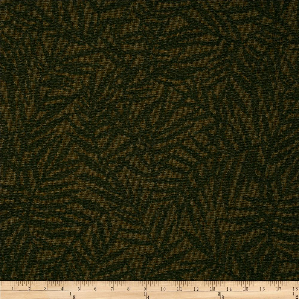 Robert Allen Promo Upholstery Palm Fronds Bark