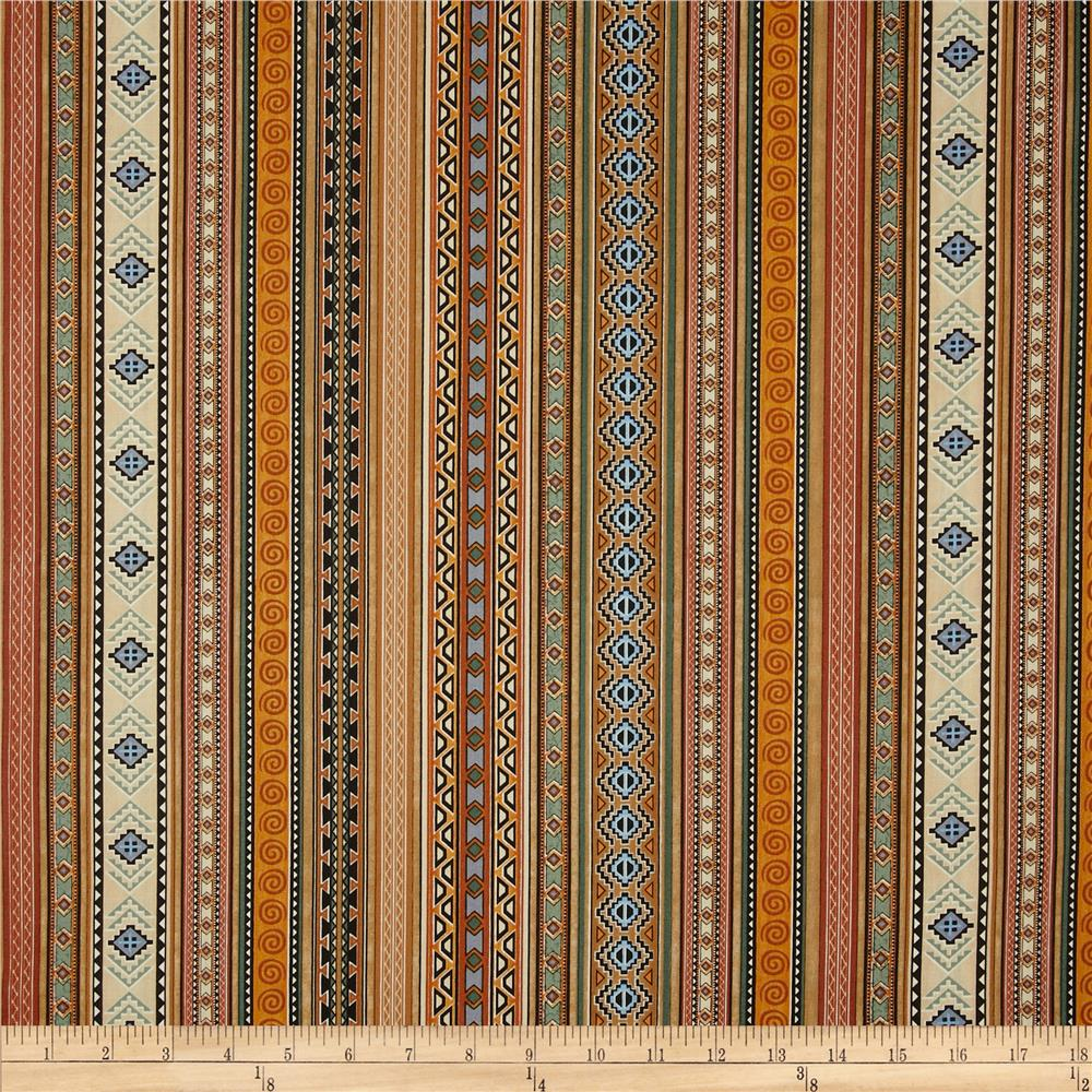 Cabin Country Indian Stripe Multi
