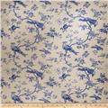 Fabricut Acamas Linen Blend French Blue