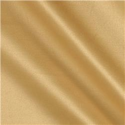 Stretch Cotton Poly Satin Yellow Gold