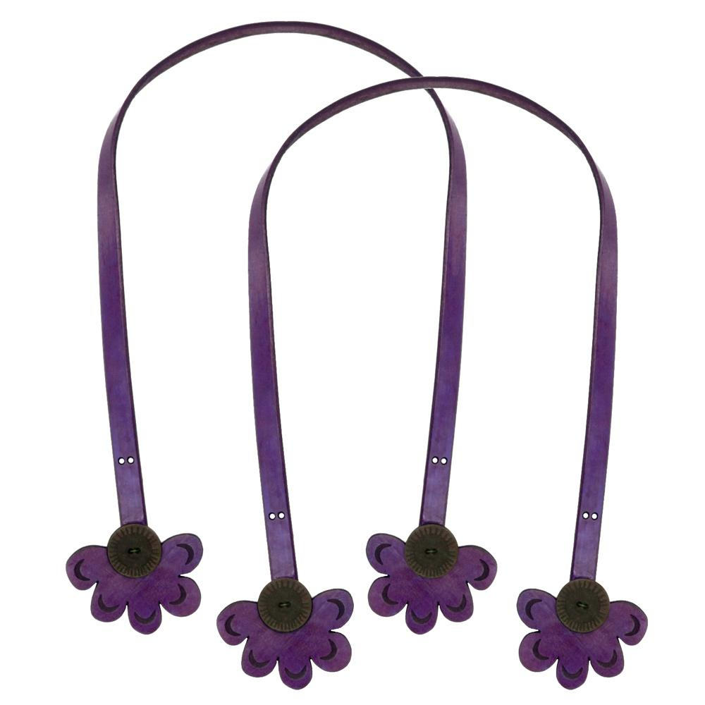 Cindy's Purse Straps 32'' Half Daisy Purple