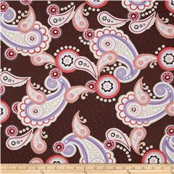 Kanvas Bella Morocco Paisley Brown