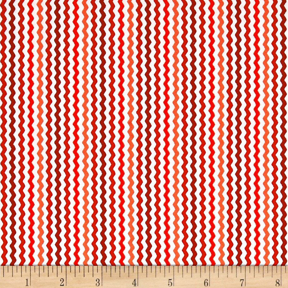 QT Fabrics Sorbet Essentials Rick Rac Red