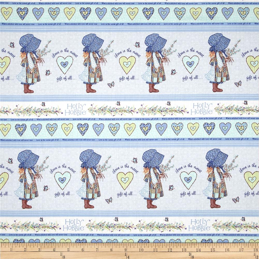 Holly Hobbie Holly Shelf Stripe Blue