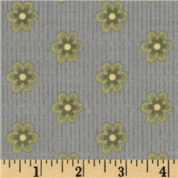 Riley Blake A French Courtyard French Floral Grey