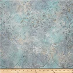 Artisan Batiks Emily's Eyelet Single Border Paisley Powder