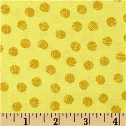 Sketch Dots Yellow