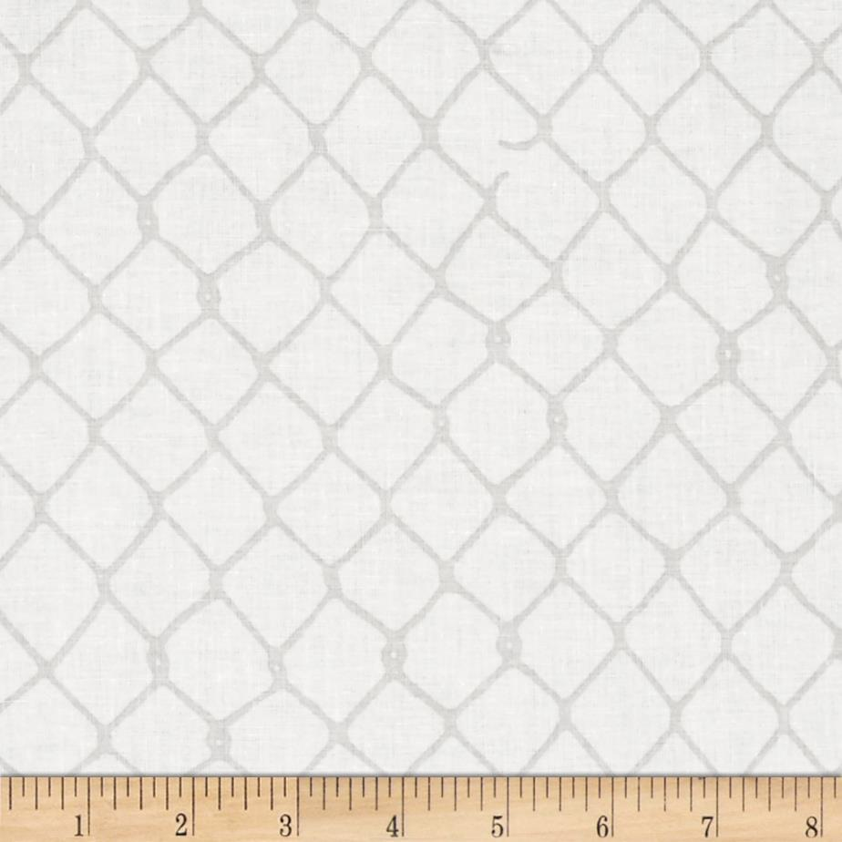 Grafic Chain Link Fence Birch
