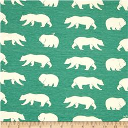 Birch Organic Bear Camp Interlock Knit Bear Hike Pool