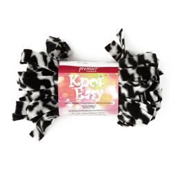 Premier Knot Easy Yarn (1001-04) Zebra Black/White
