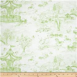 Carousel Dreams Toile White/Green